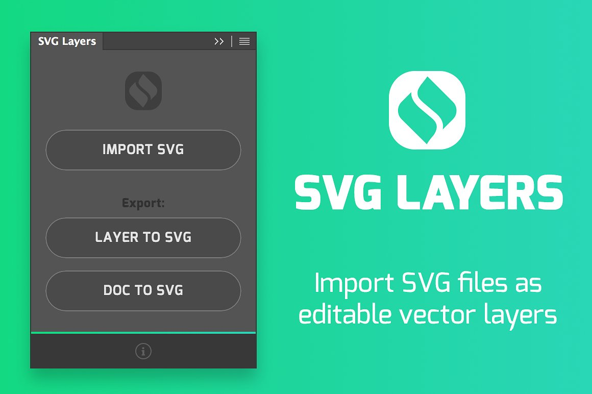 SVG Layers for Photoshop - YouTube
